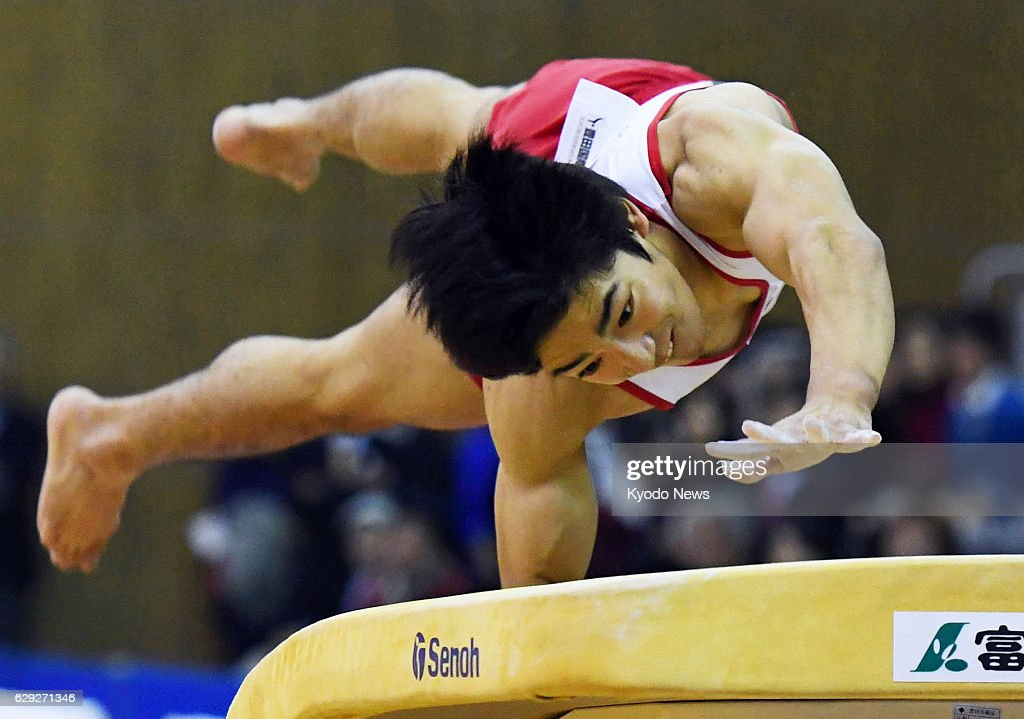 Rio medalist Shirai wins vault : News Photo