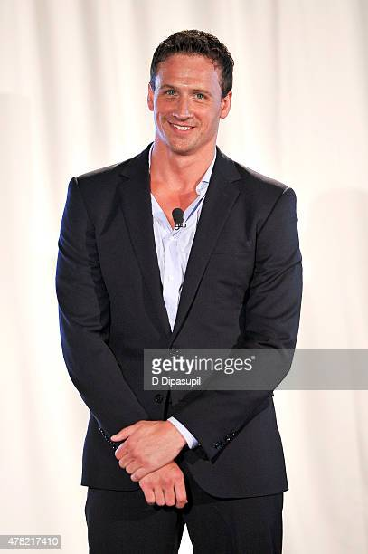 Rio Olympic hopeful Ryan Lochte attends the TeamUSA New View event at Midtown Loft Terrace on June 23 2015 in New York City