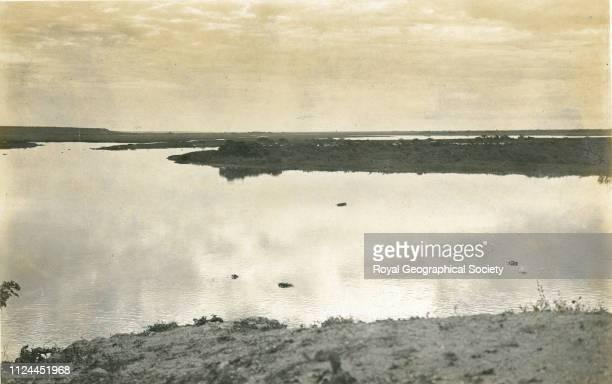 Rio Paraguay at Corumba Brazil 1908 Artist Percy Harrison Fawcett