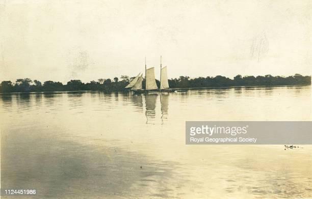Rio Paraguay Brazil 1908 Artist Percy Harrison Fawcett