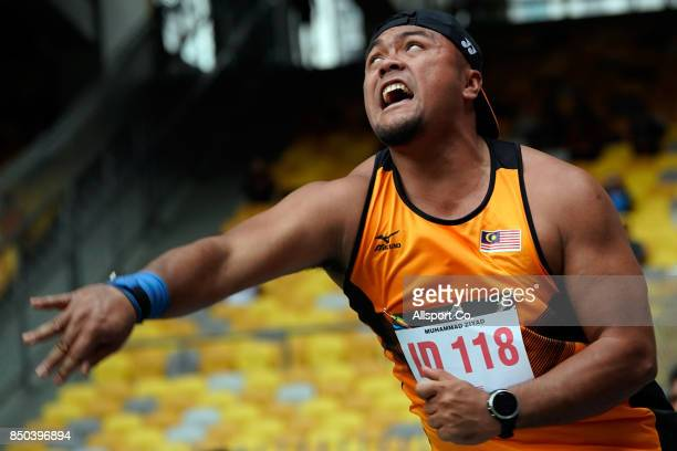 Rio Paralympic gold medallist and the current 2017 World Champion of the World Para Athletics Championships in London Muhammad Ziyad Zolkefli of...