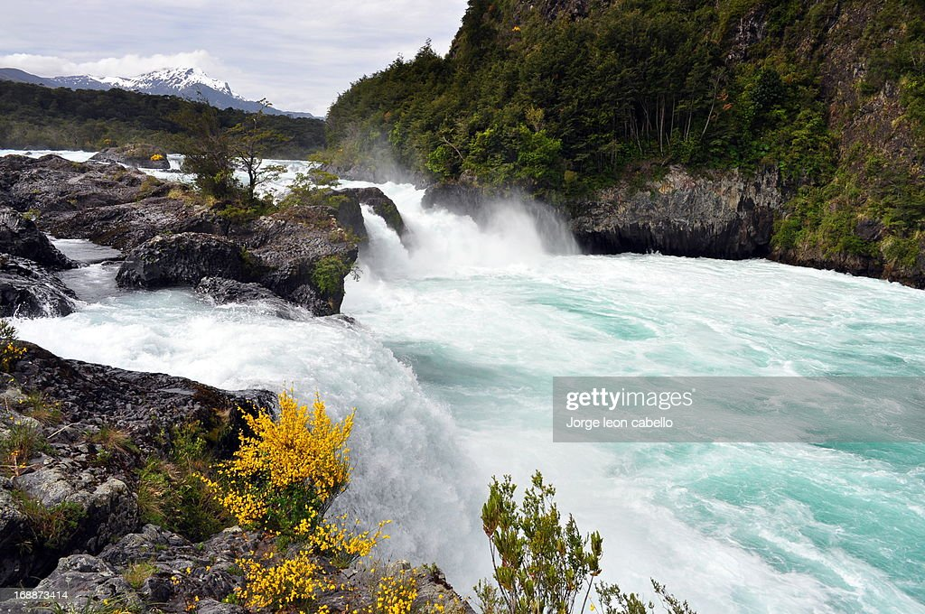Rio Petrohue Falls : Stock Photo