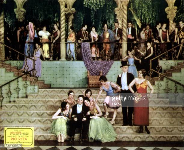 Rio Rita lobbycard Bert Wheeler Dorothy Lee Robert Woolsey Bebe Daniels 1929