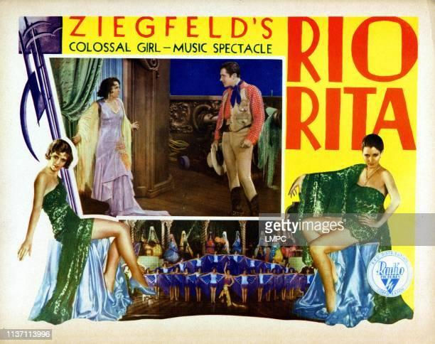 Rio Rita lobbycard from left inset Bebe Daniels John Boles 1929