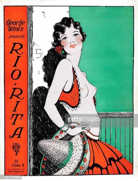 Rio Rita poster Bebe Daniels 1929