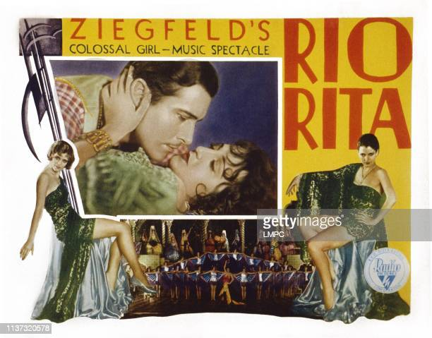 Rio Rita US lobbycard from top inset John Boles Bebe Daniels 1929