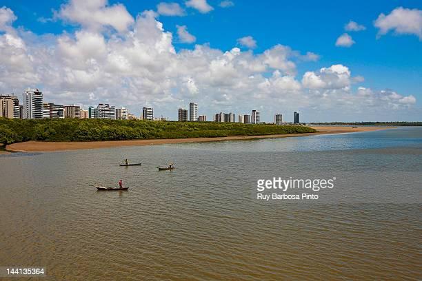 rio sergipe - sergipe river - brasil sergipe aracaju - fotografias e filmes do acervo