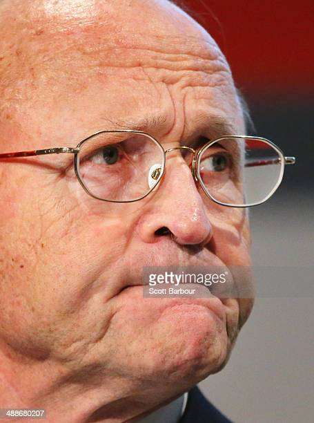 Rio Tinto Chairman Jan du Plessis speaks during the Rio Tinto Annual General Meeting on May 8 2014 in Melbourne Australia Jan du Plessis Chairman of...