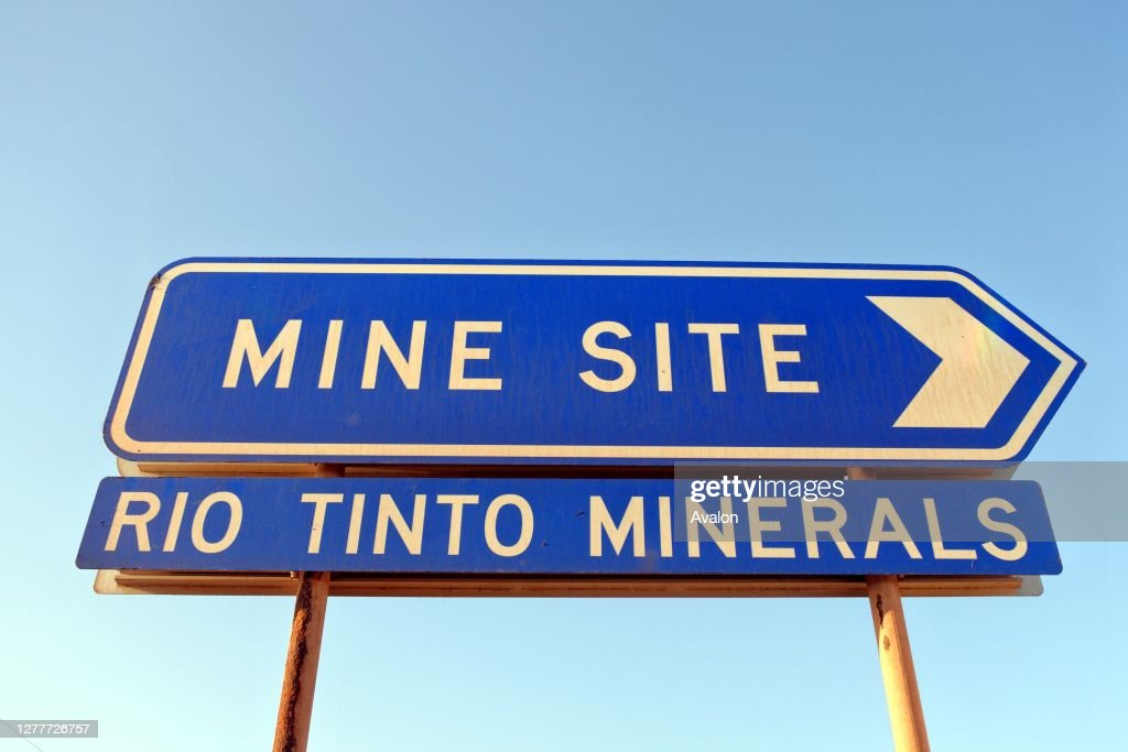 Rio Tinto Dampier Salt. It's one of the world's largest private salt producers. : News Photo