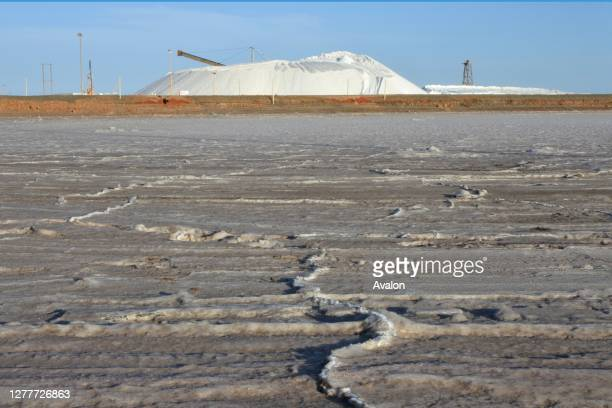 Rio Tinto Dampier Salt. It's one of the world's largest private salt producers.