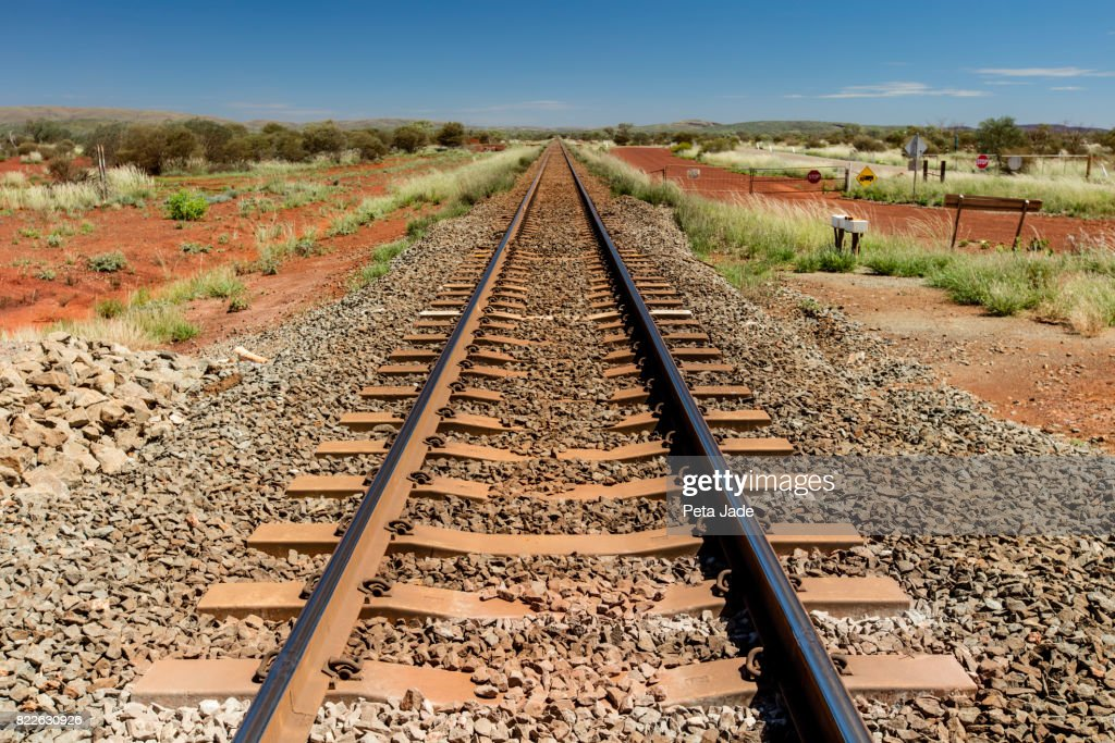 Rio Tinto Outback Railway : Stock Photo