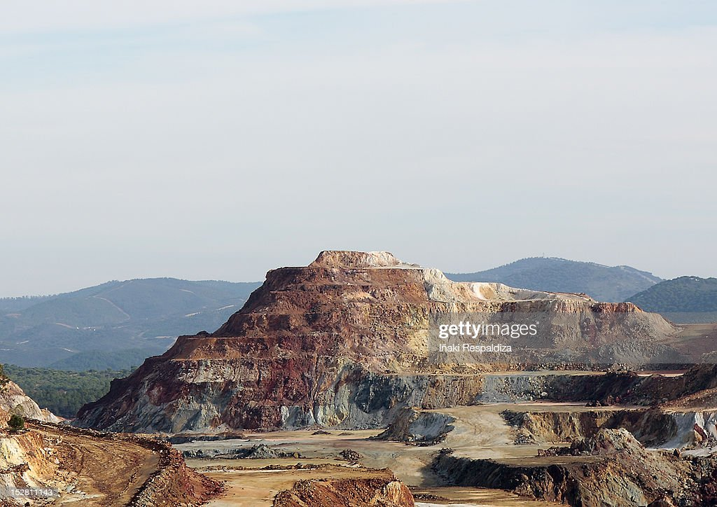 Rio Tinto Quarry : Foto de stock