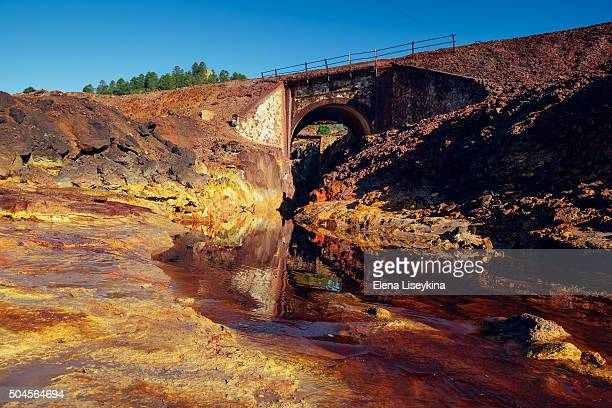 Rio Tinto river in Spain.