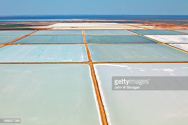 Rio Tinto , salt production,Port Hedland,Australia
