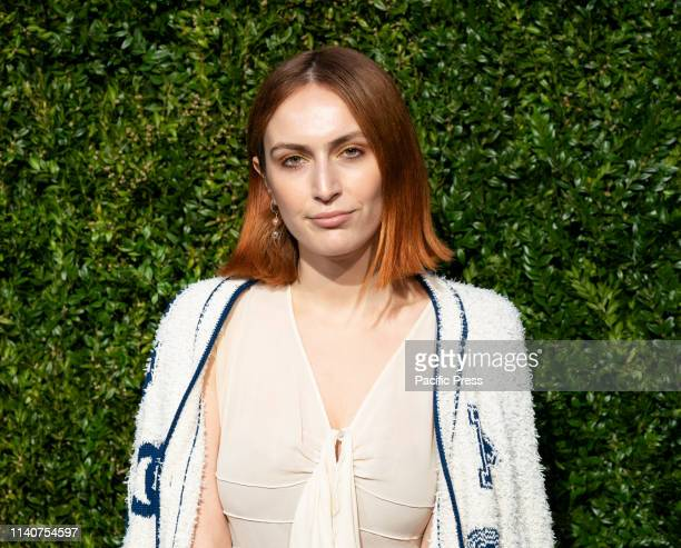 Rio VieraNewton wearing Chanel attends the Chanel 14th Annual Tribeca Film Festival Artists Dinner at Balthazar