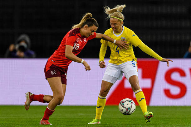 CHE: Switzerland v Romania: Group G - FIFA Women's WorldCup 2023 Qualifier