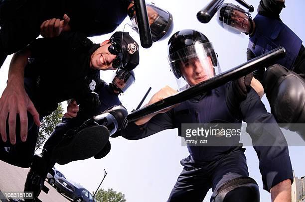 Émeute Cops