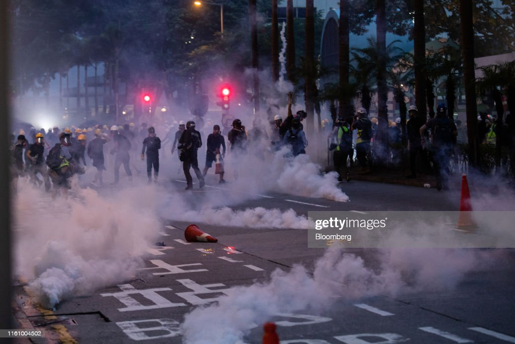 Hong Kong Braced For More Protests : News Photo
