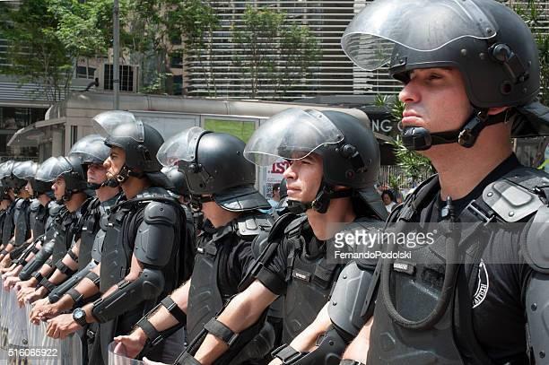 Riot Police in Brazil