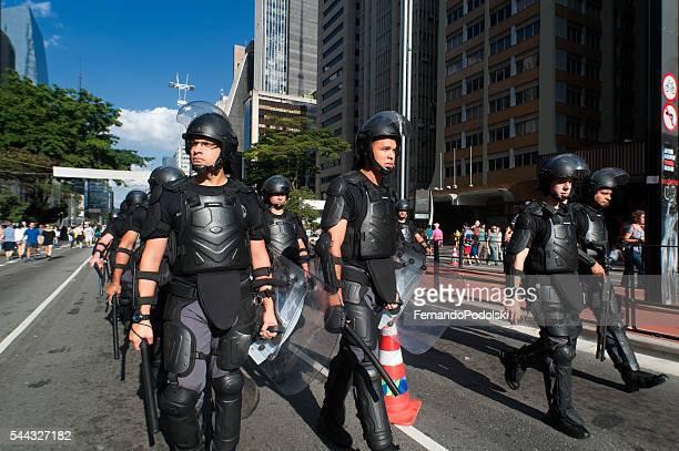 Motim policial no Brasil
