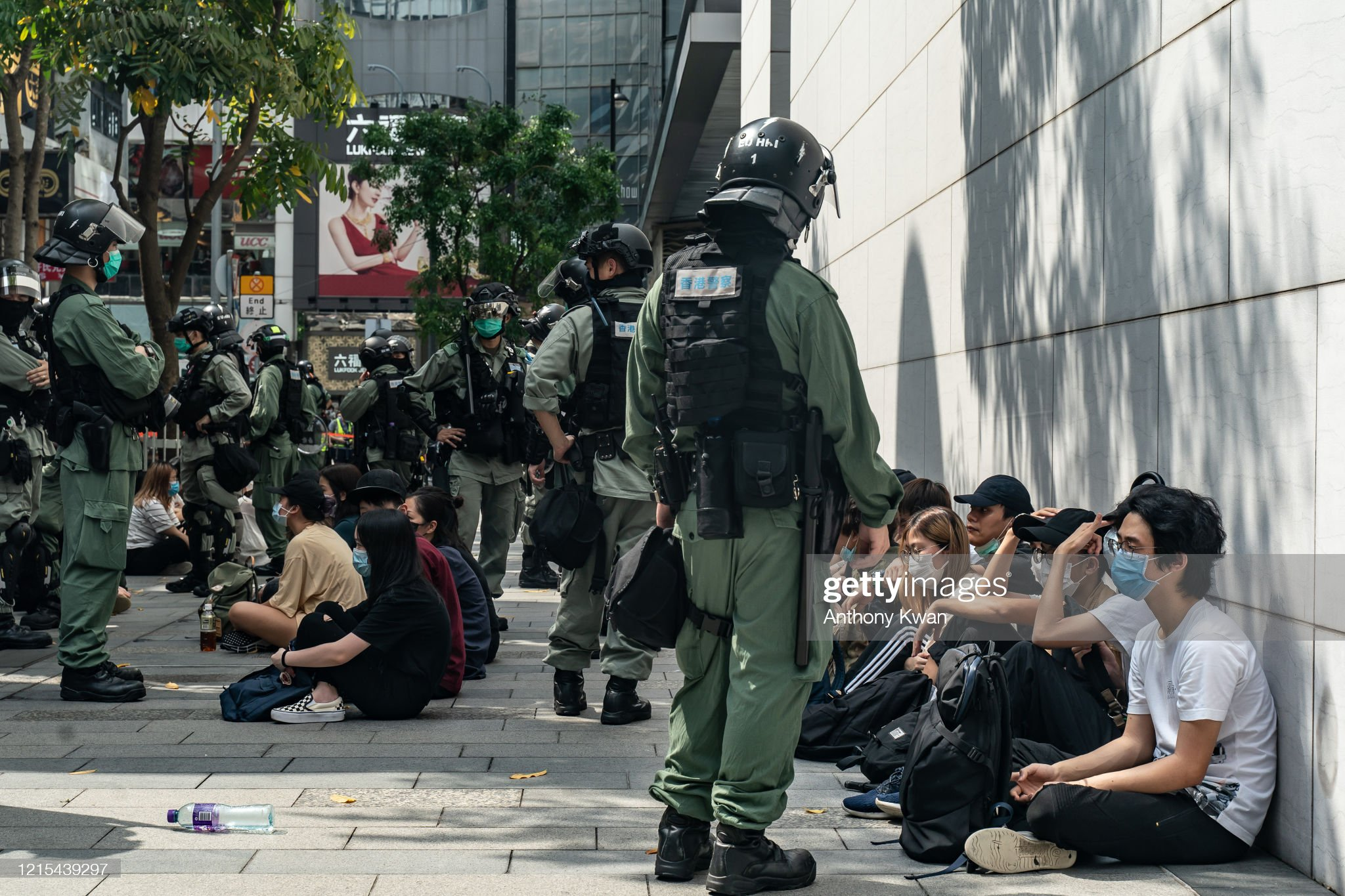 Hong Kong Protests Against China's Proposed Security Law : News Photo