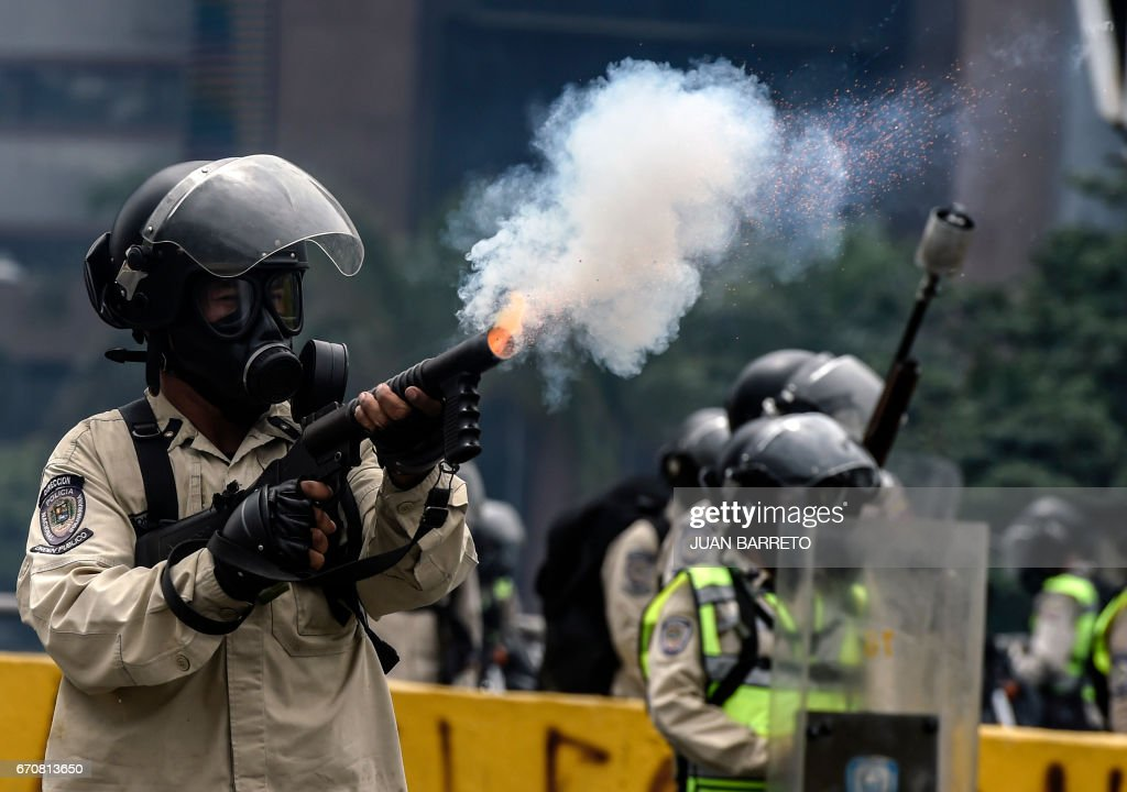 VENEZUELA-OPPOSITION-PROTEST : News Photo