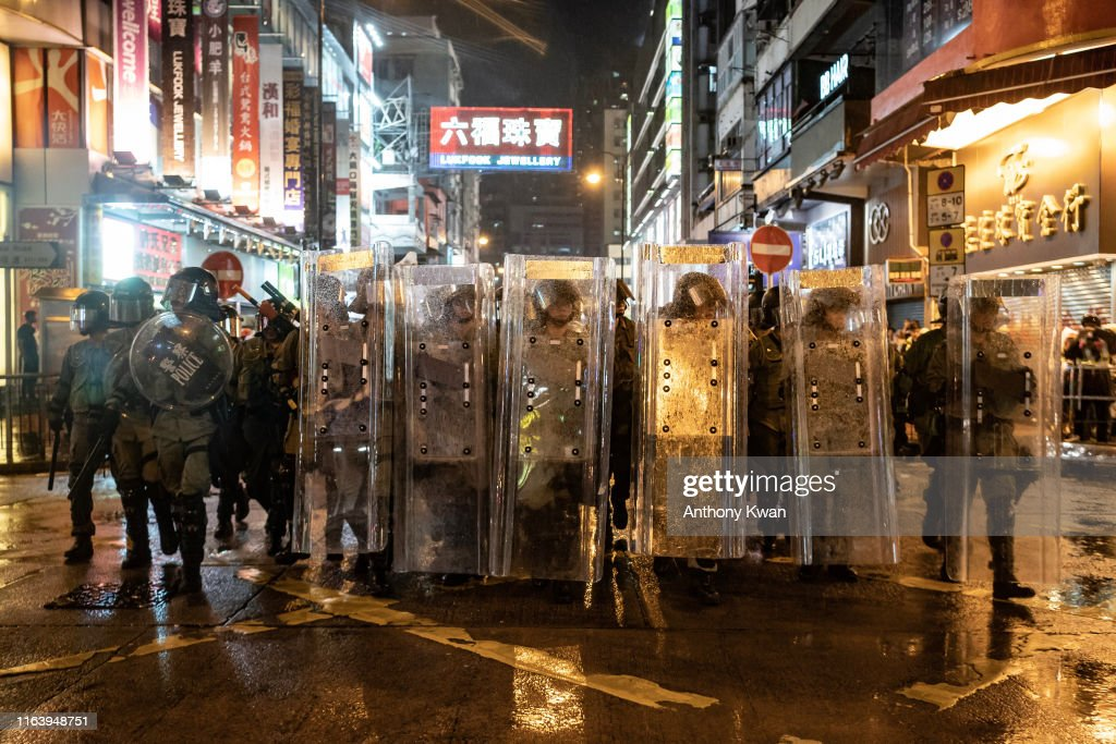 Unrest In Hong Kong During Anti-Government Protests : Nieuwsfoto's