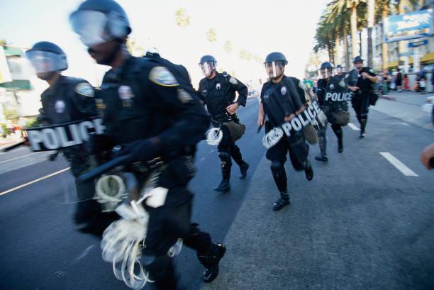 Riot Police Preparing for Protests