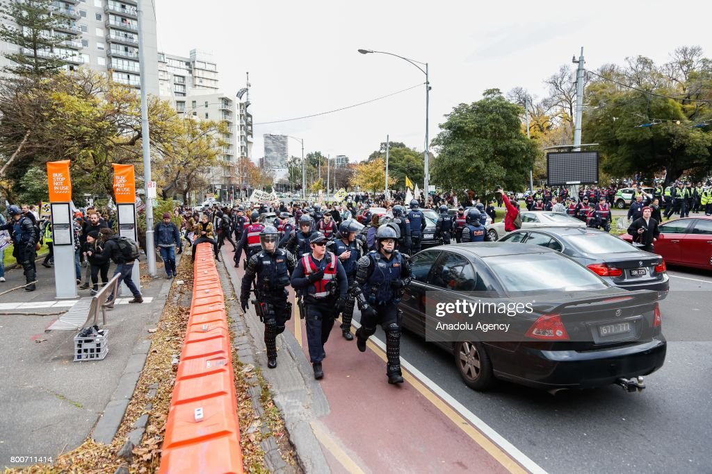 Protest in Melbourne : News Photo