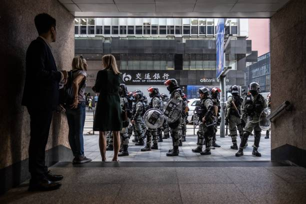 CHN: Police Tell University Protesters To Surrender After Violent Weekend Protests Shut Down City
