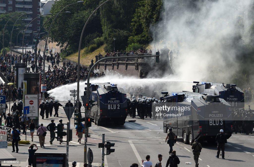 GERMANY-G20-SUMMIT-PROTEST : Nachrichtenfoto