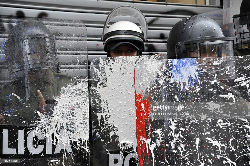 COLOMBIA-MAYDAY-PROTEST : News Photo