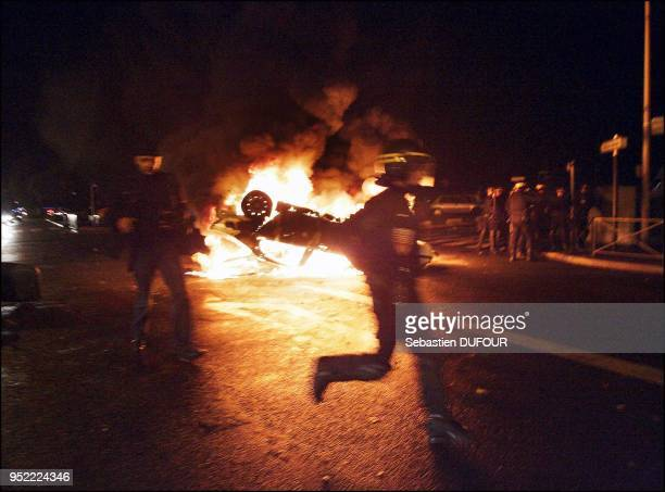 Rioting in Aulnay-sous-Bois several vehicles were set on fire Nov. 2 in the streets of this Paris suburb. Rioting in Aulnay-sous-Bois several...