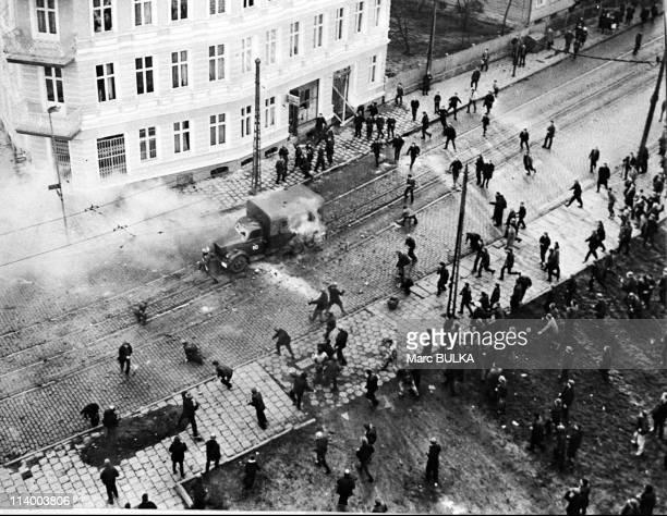 Riots In Szczecin Poland In December 1970