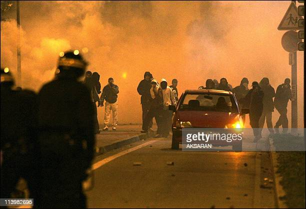 Riots in the Le Mirail district of Toulouse In Toulouse France On November 06 2005