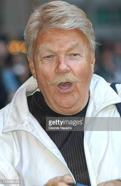 """Rip Taylor during Jennifer Aniston, 50 Cent and Rip Taylor Arrive at """"The Late Show with David Letterman""""- November 7, 2005 at Ed Sullivan Theater in..."""