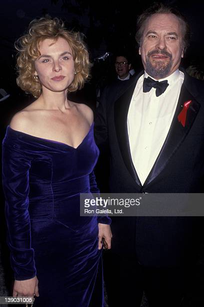 Rip Torn and daughter Angelica Torn attend Second Annual Screen Actors Guild of America Awards on February 24 1996 at the Santa Monica Auditorium in...