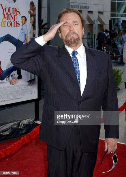 Rip Torn during Yours Mine and Ours Los Angeles Premiere Arrivals at Cinerama Dome in Hollywood California United States