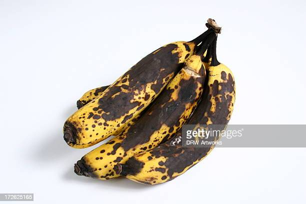 ripe bananas - rot stock photos and pictures