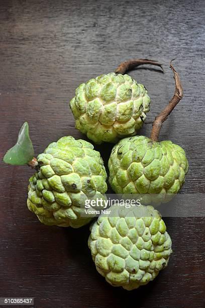 Ripe Custard Apples (Annona Reticulata)