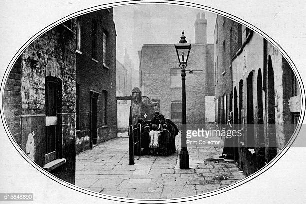 Ripe for eviction London circa 1901 A photograph of a street soon to be demolished From Living London Vol 1 edited by George R Sims [Cassell and...