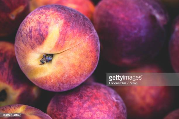 Ripe Golden Peaches