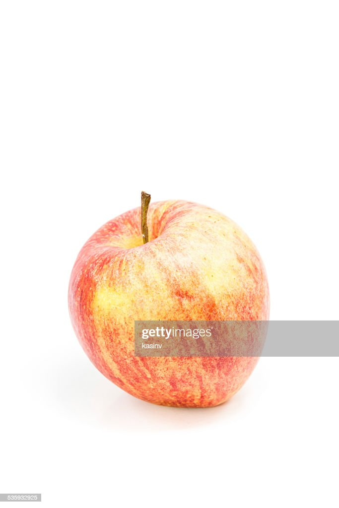 ripe red apple : Stock Photo