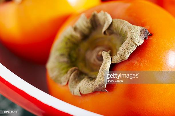 Ripe whole persimmons