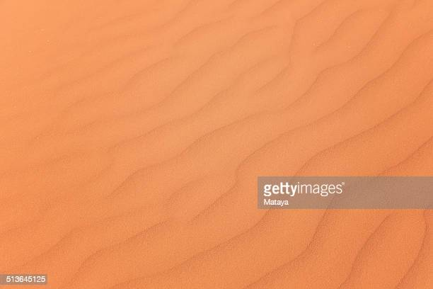 Rippled sand dune pattern