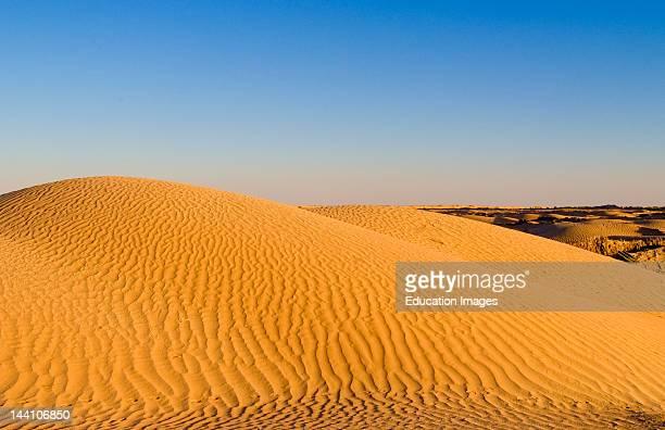 Ripples In Sand In The Sahara Desert In Douz In Tunisia