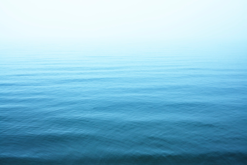 Ripples on blue water surface 175529958