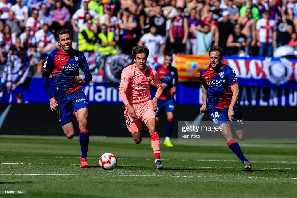 SD Huesca V FC Barcelona - La Liga : News Photo