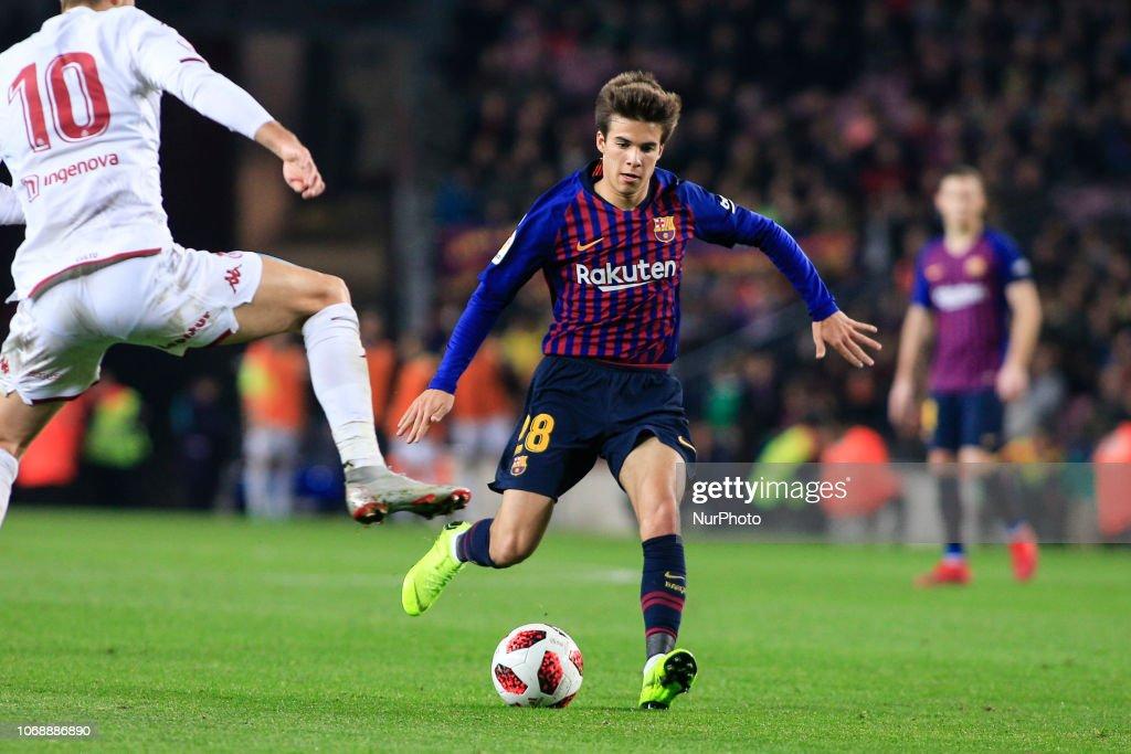 Barcelona v Cultural Leonesa - Copa del Rey - Fourth Round : ニュース写真