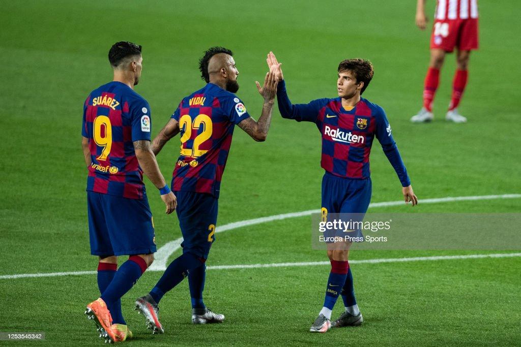 FC Barcelona V Atletico De Madrid - La Liga : News Photo